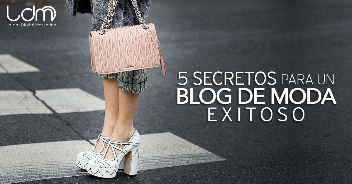 Secretos de un blog de moda exitoso